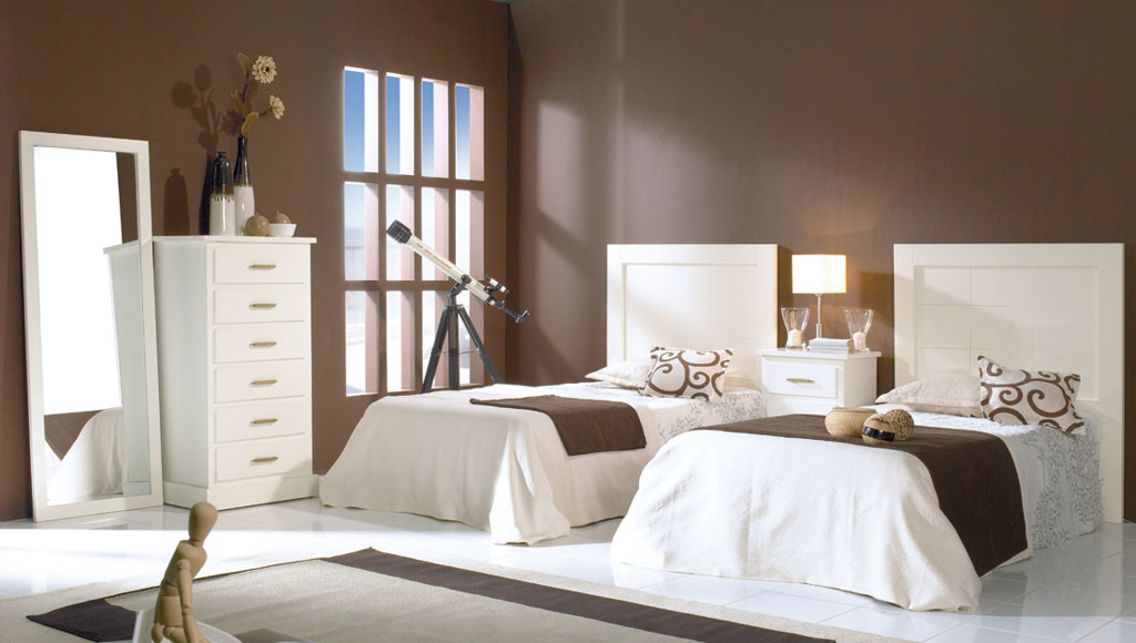 Dormitorio Juvenil Bahamas Marfil-Cerezo