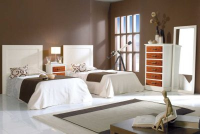 Dormitorios Juveniles Bahamas Marfil-Cerezo