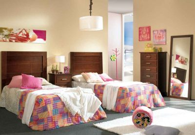 Dormitorio Juvenil Bahamas Nogal