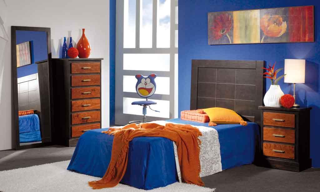 Dormitorio Juvenil Bahamas Wengue-Cerezo