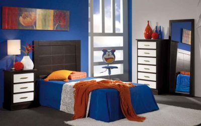Dormitorio Juveni Bahamas Wengue-Marfil