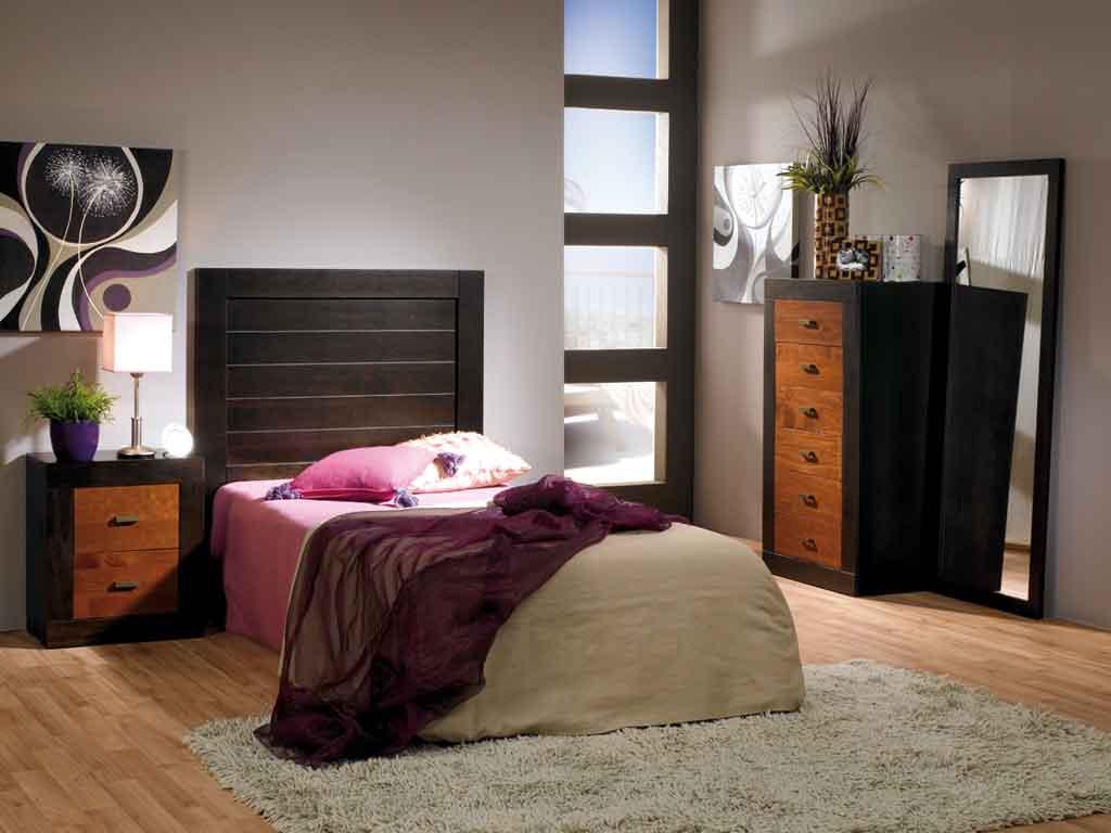 Dormitoris Juvenil Jamaica Wengue-Cerezo
