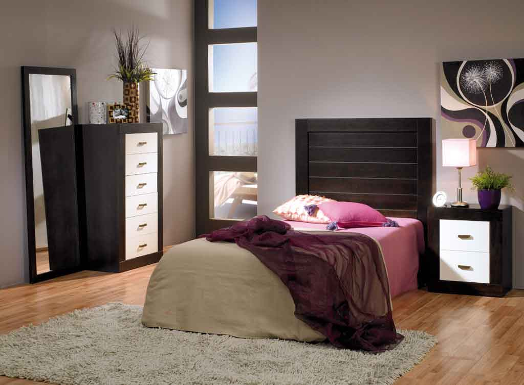 Dormitorio Juvenil Jamaica Wengue-Marfil