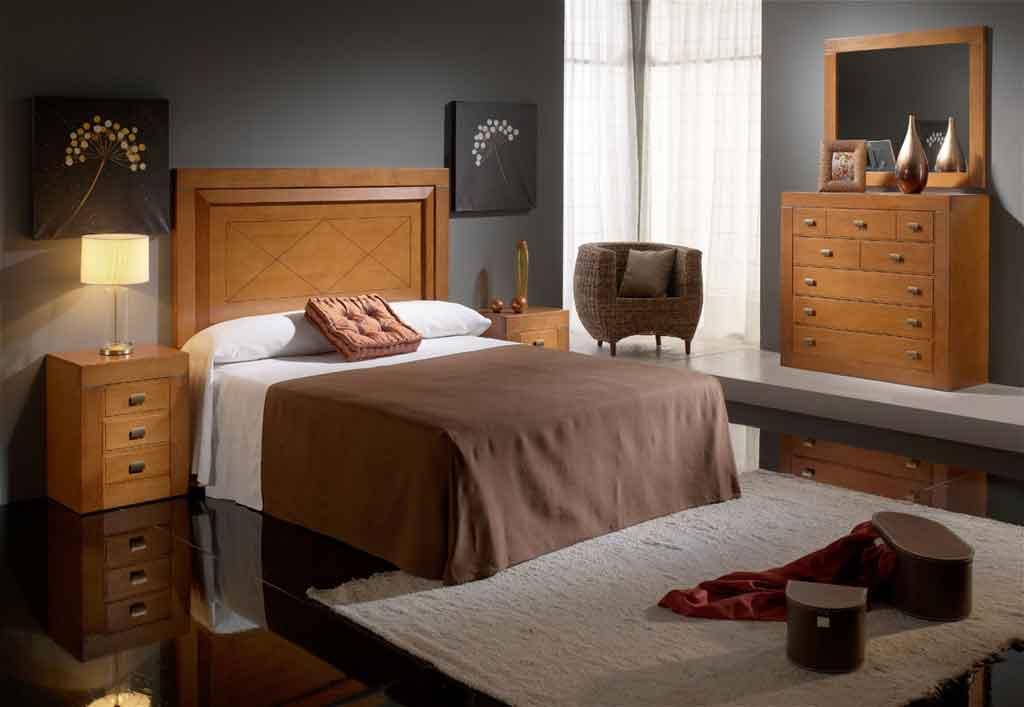 Dormitorio matrimonio aire fresco 4 for Muebles color cerezo como pintar paredes