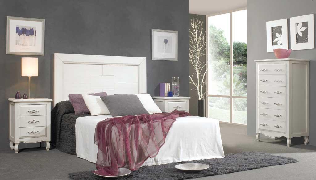 Dormitorio matrimonio elisabeth 2 for Dormitorios de matrimonio blancos