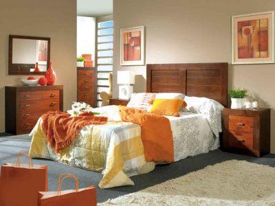 Dormitorio de Matrimonio Jamaica Nogal-Cerezo