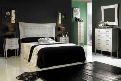 Dormitorio de Matrimonio Luis XV Plata Vieja