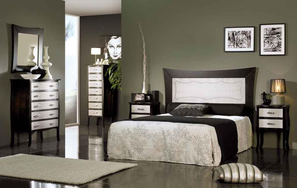 Cabeceros de cama luis xv for Dormitorio wengue