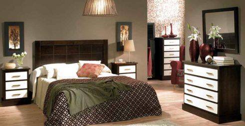 Dormitorio Matrimonio Bahamas Wengue- Marfil