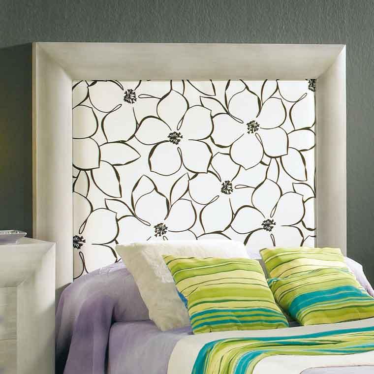 Cabeceros de cama tapizados selena for Cabeceros tapizados fotos