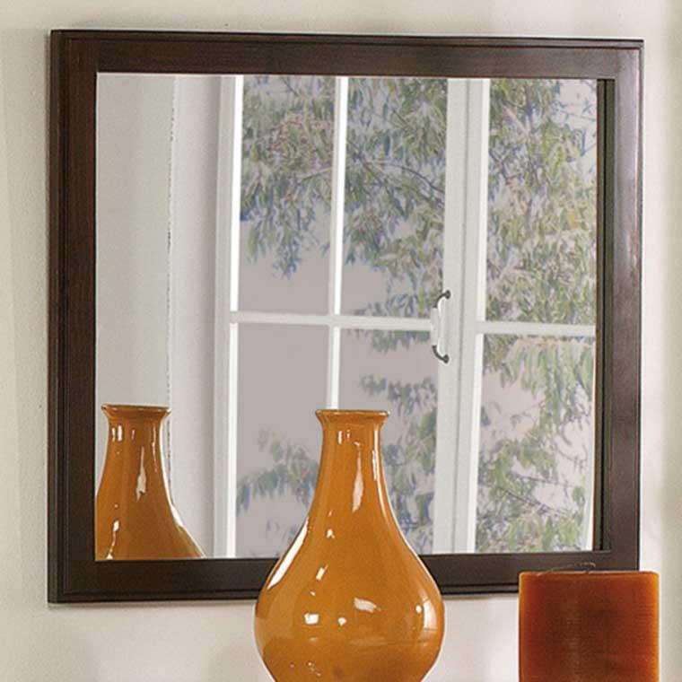 Marco espejo mil n todo en dormitorios for Espejo marco wengue