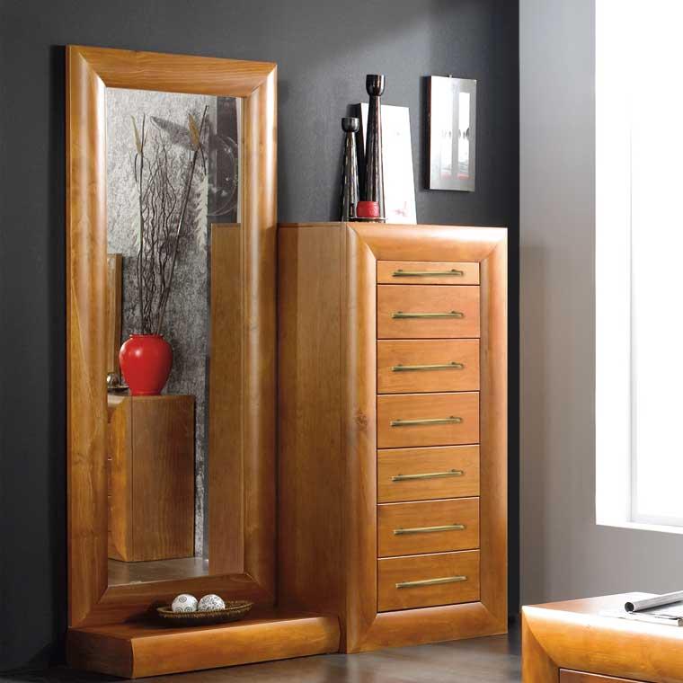 Espejo vestidor con soporte selena for Espejos de vestidor