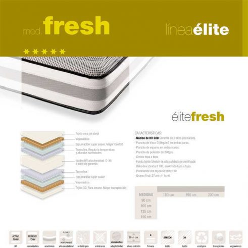 colchón elite fresh