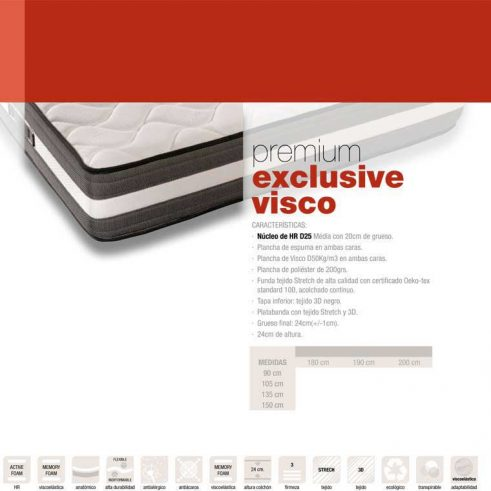 Colchón Exclusive Visco